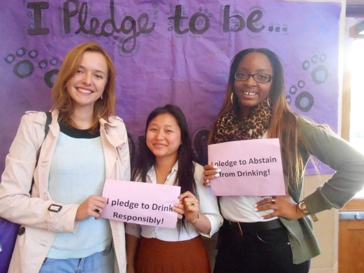 Students at Agnes Scott are honorable and we pledge to party smart.